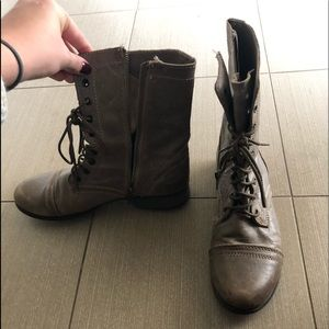 Combat boots!!!